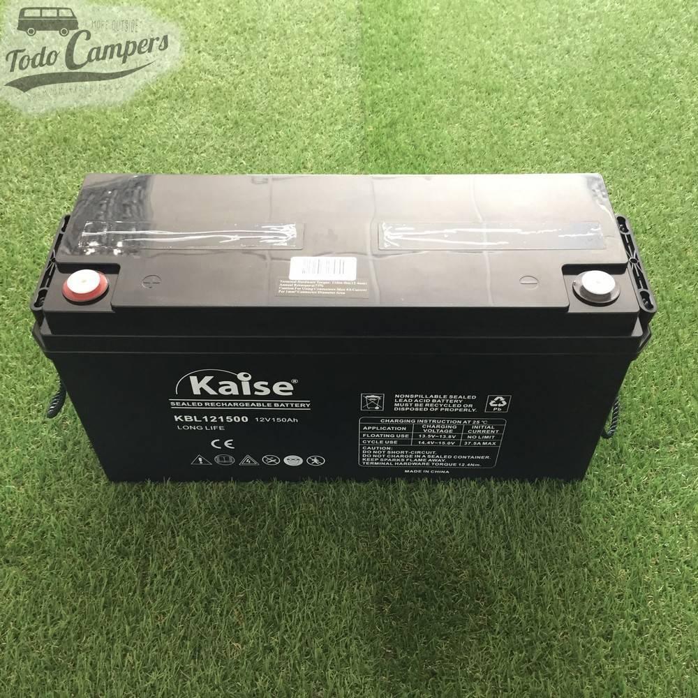 Batería sellada AGM 12v 150A KAISE