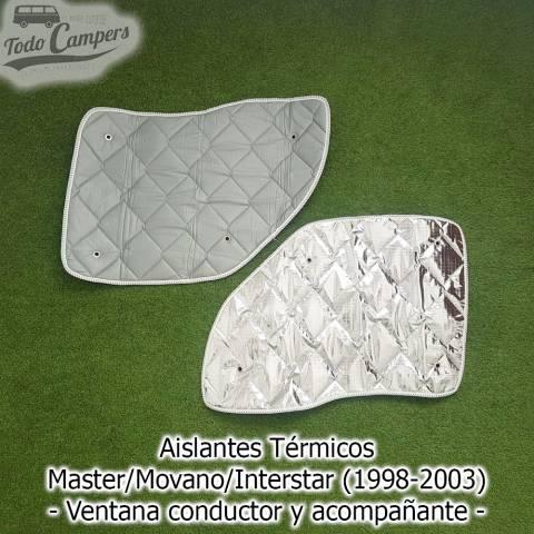 Oscurecedores térmicos Master-Movano-Interstar 1998-2003