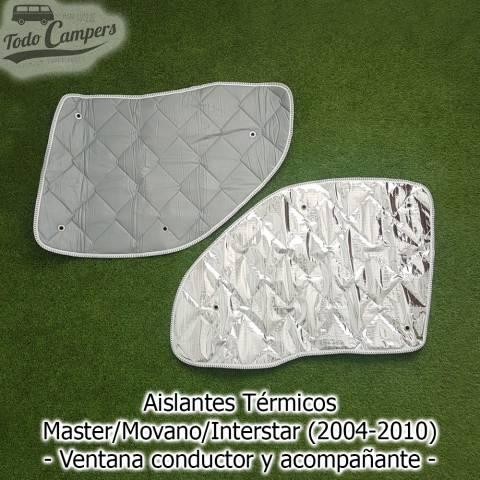 Oscurecedores térmicos Master-Movano-Interstar 2004-2010