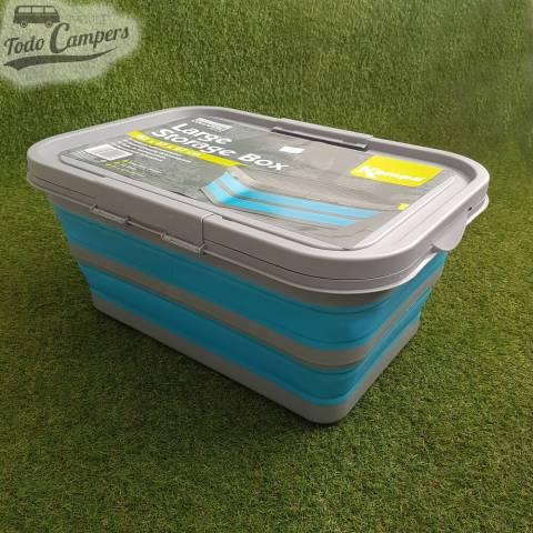 caja plegable con tapa