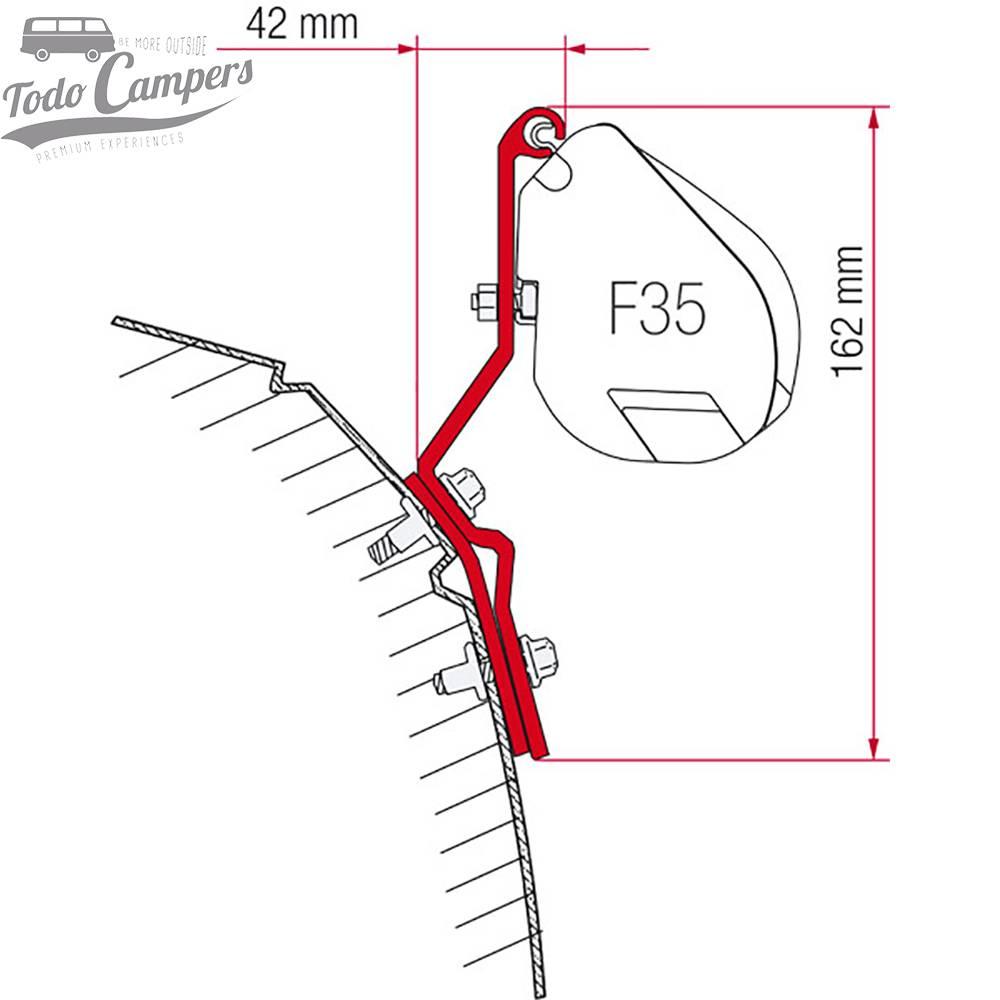 Soporte Toldo Fiamma F35 Pro - Volkswagen T4