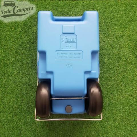 Depósito portátil aguas limpias - 23 litros. Depósito aguas limpias para tu furgoneta, autocaravana o caravana