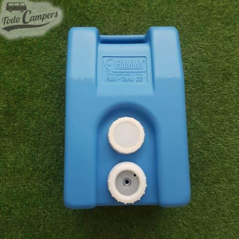 Depósito portátil de agua limpia camper. Depósito aguas limpias para tu furgoneta, autocaravana o caravana