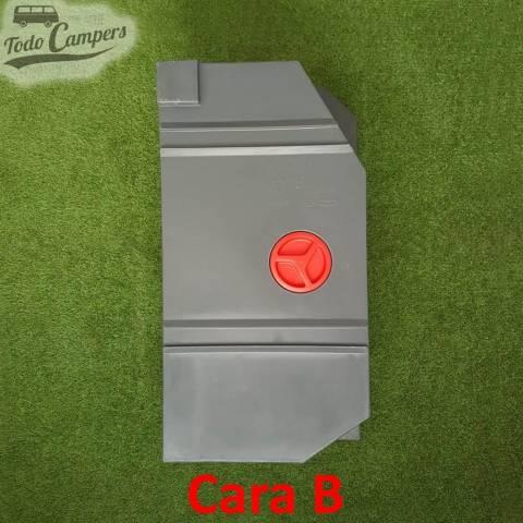 Cara B Depósito de agua 80L para Ducato, Jumper y Boxer 1994-2006. Depósito de aguas limpias y grises para tu furgoneta