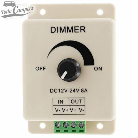 Dimmer para controlar luces LED