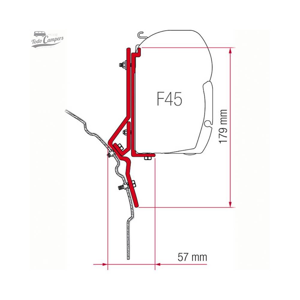 Soporte Toldo Fiamma F45s - Volkswagen T4