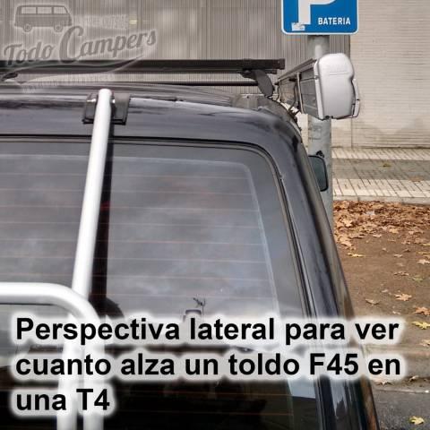 Perspectiva lateral Soporte Toldo Fiamma F45s - Volkswagen T4