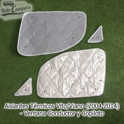 parasol furgoneta camper mercedes vito viano 2004-2014 ventana conductor y copiloto