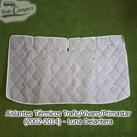 aislante termico para furgonetas Térmicos Trafic Vivaro Primastar 2002-2014 luna delantera