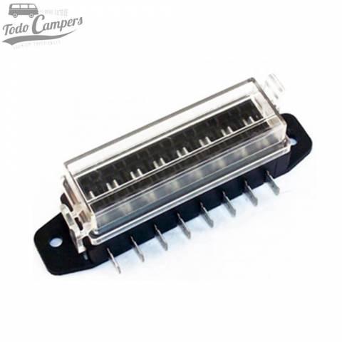 Caja portafusibles de 8 pins