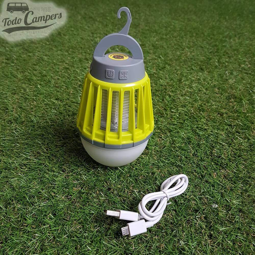 Lámpara anti-mosquitos