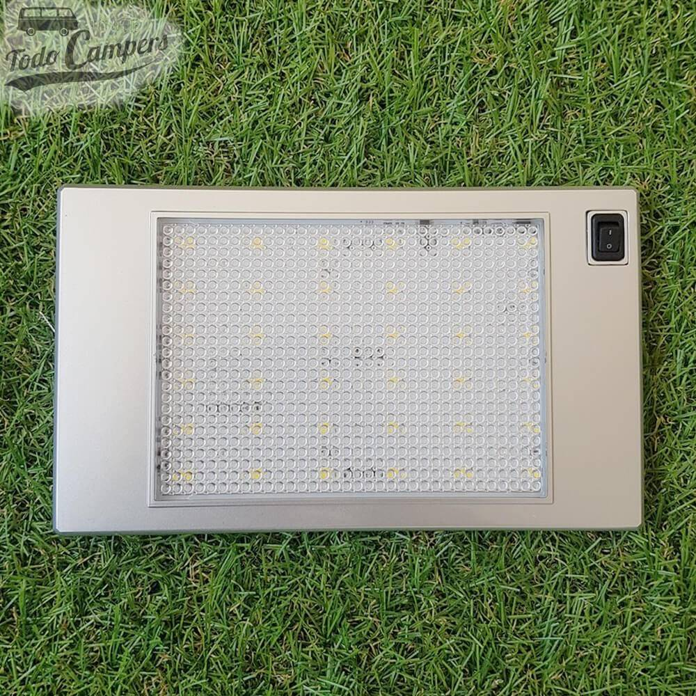 Plafón de superficie Led extrafino con interruptor - 185 x 110 mm