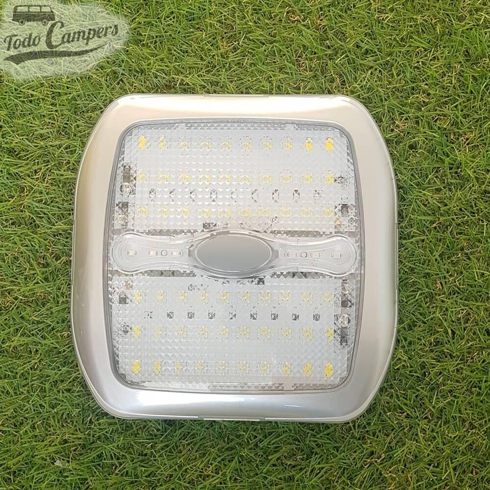 Plafón de superficie Led con interruptor - 177 x 177 mm