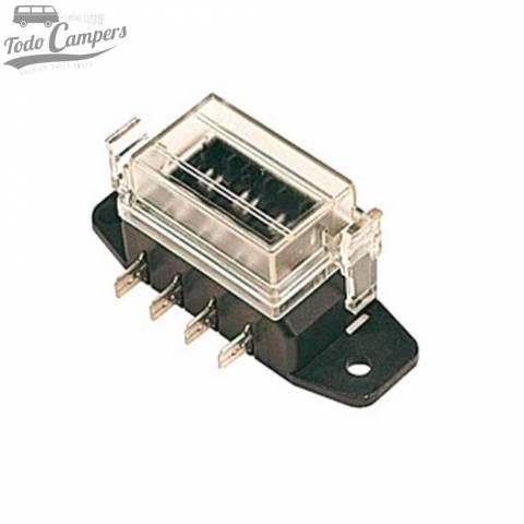 Caja portafusibles (4 pins)