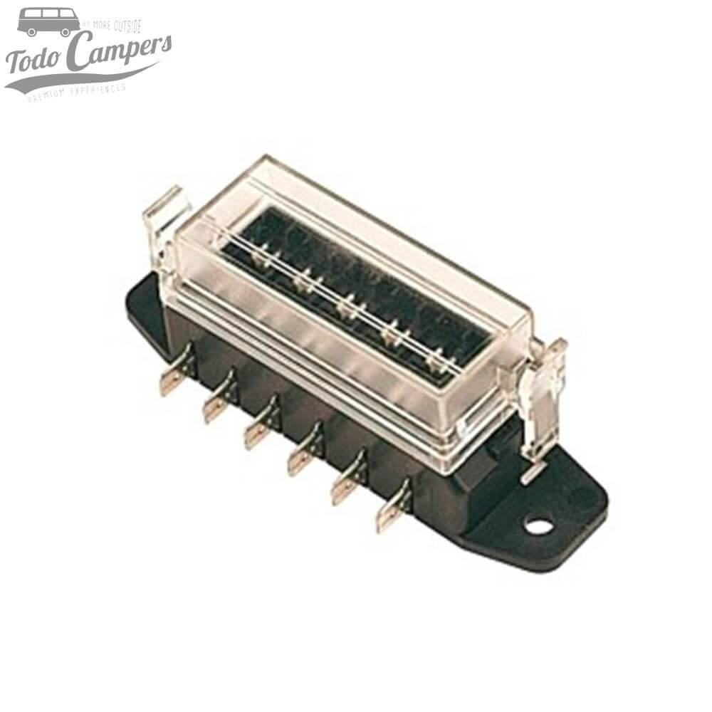Caja portafusibles (6 pins)