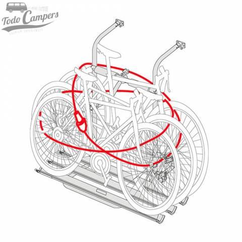 Sistema antirrobo antirrobo para bicicletas