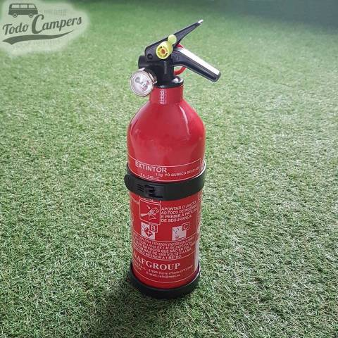 Extintor 1 Kg con manómetro