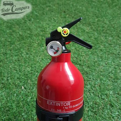 Manómetro Extintor 1 Kg ABC