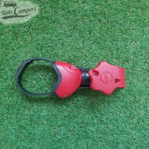 Brazo Bike Block Pro 1 Rojo - Fiamma. Tensores de fast Clip para bicicletas. Para tu furgoneta, autocaravana o caravana