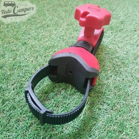 Brazo Bike Block Pro 1 Rojo de la marca  Fiamma. Portabicicletas furgoneta, autocaravana o caravana
