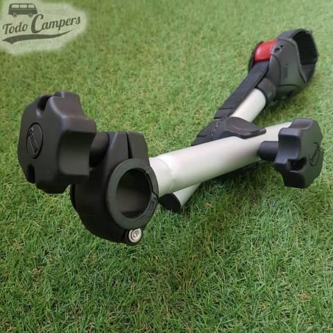 Detalle de la tuerca de sujeción del brazo Bike Block Pro D1 Negro de Fiamma