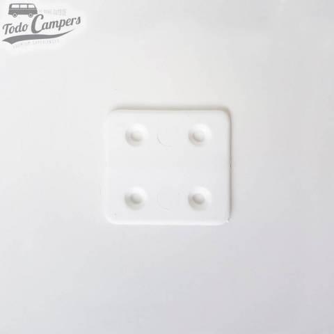 Bisagra de plástico - Blanca