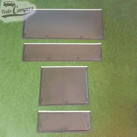Cristal compatible Ventanas Dometic Seitz S3, S4 y S5 - Varias Medidas Vista Exterior