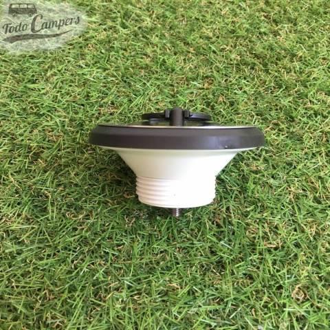 Desagüe recto - Salida rosca 42mm, Tipo E, tapón puesto, vista lateral