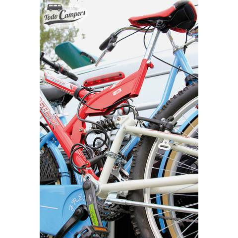 Sistema antirrobo antirrobo para bicicleta