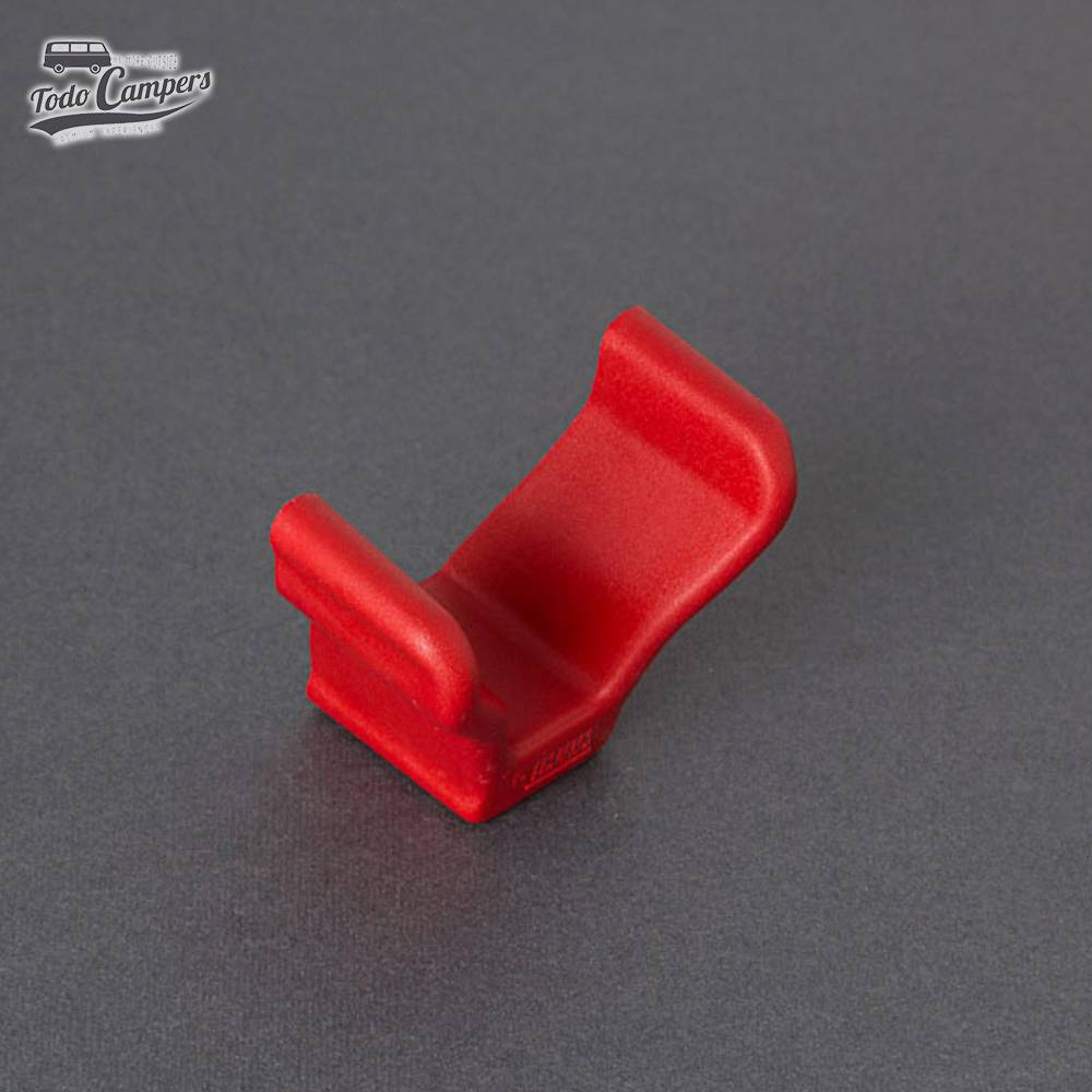 Tope Rail Quick Rojo (1ud)