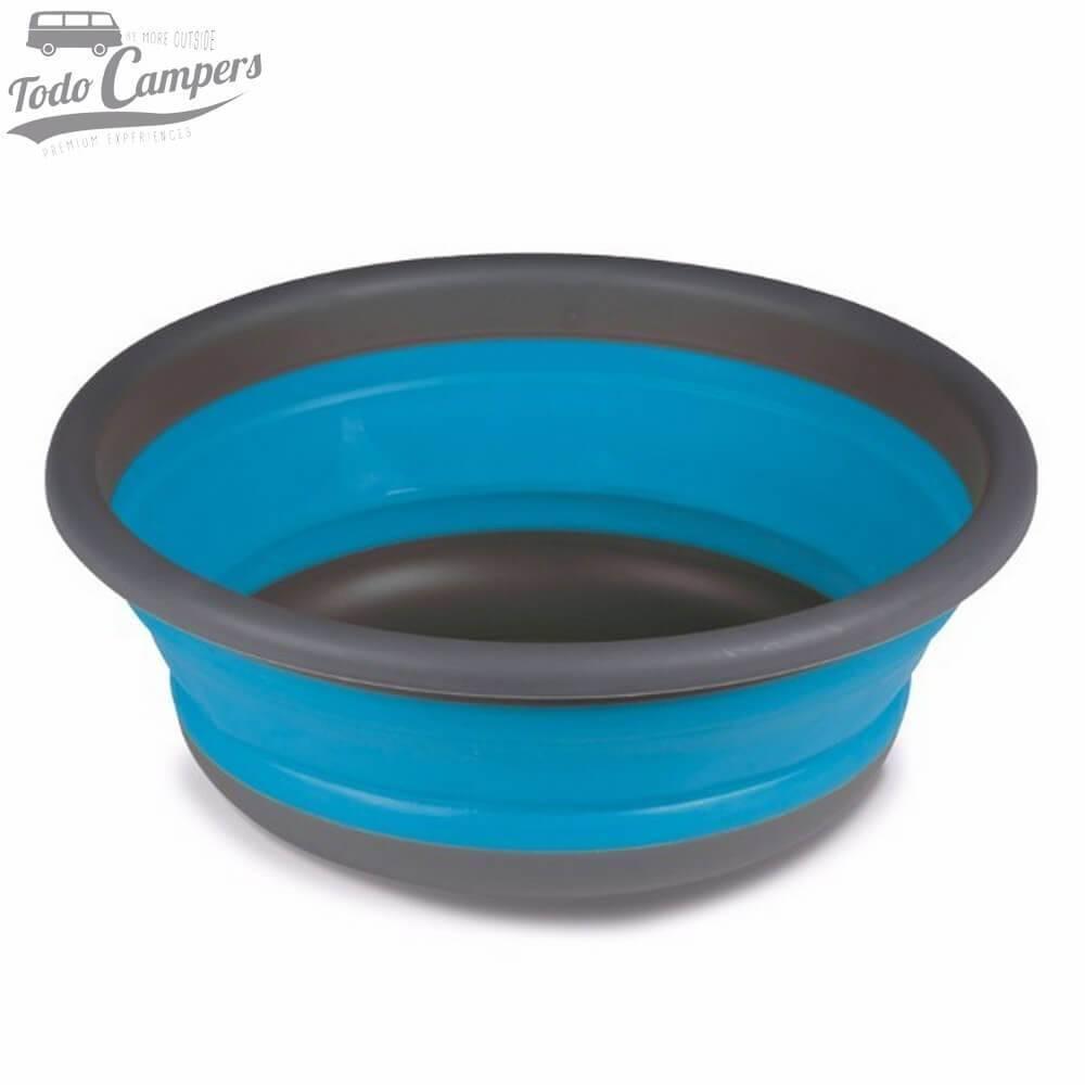 Cuenco plegable azul - 37,5 x 14 cm