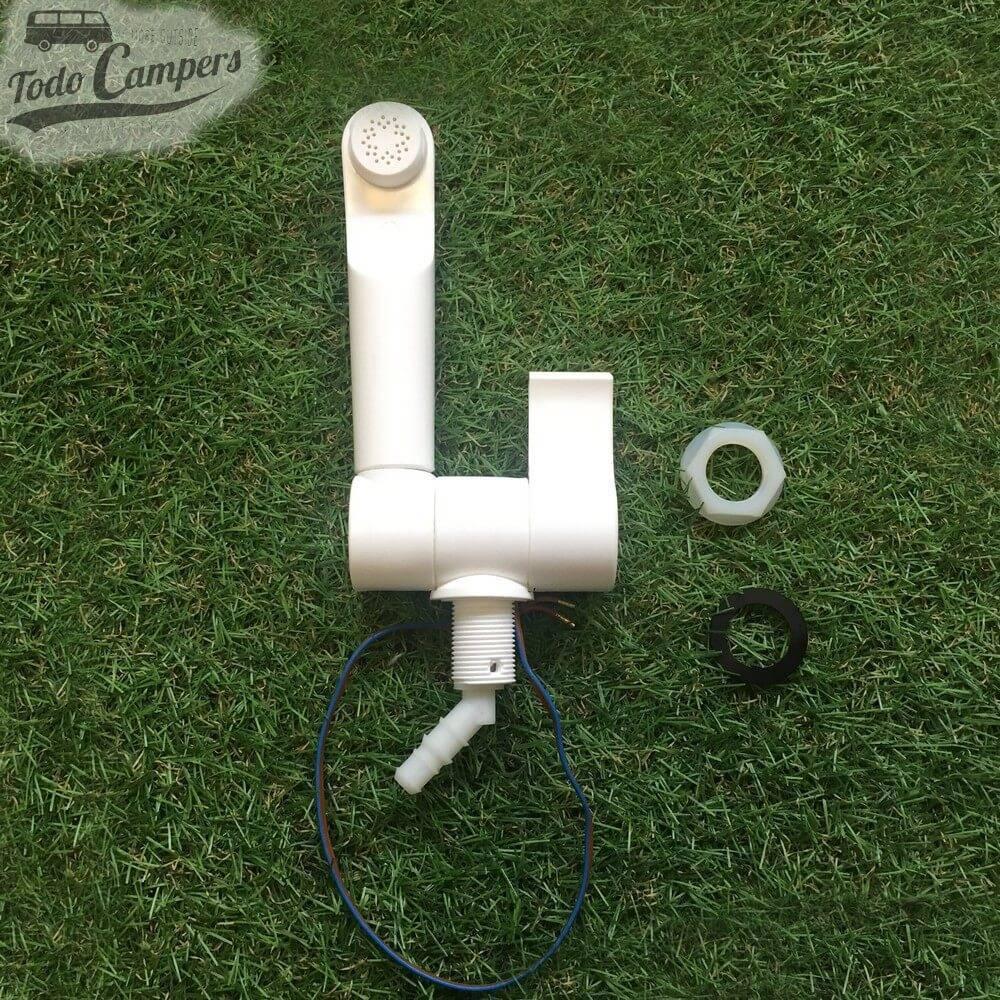 Grifo de agua fria con interruptor Style 2002 - Blanco