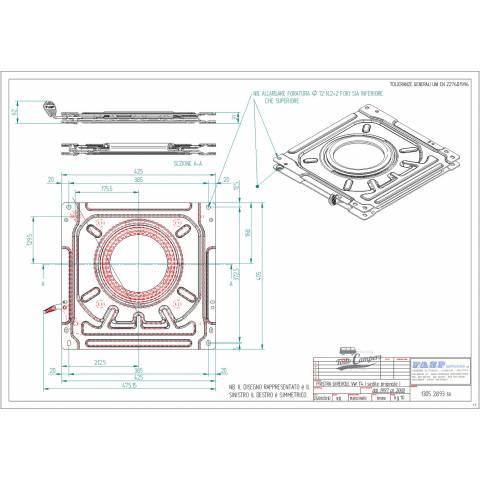 medidas base giratoria t4