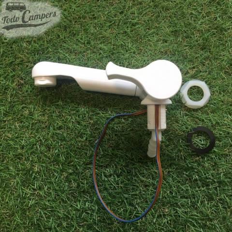 Grifo de agua fria con interruptor Style 2002 - Vista lateral, monomando subido