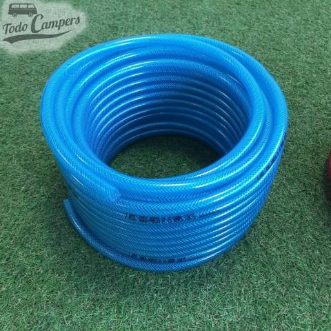 Manguera azul10mm - Rollo 25 metros