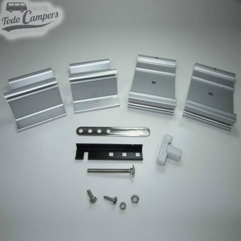 Piezas que incluye el soporte para toldo Fiamma F35 / F45s - Auto Adapter (baca)