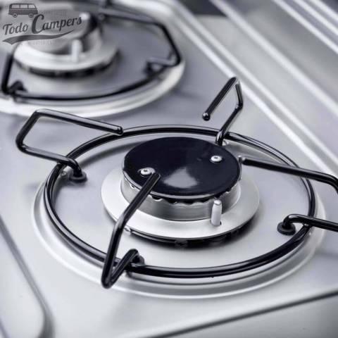 Cocina-Fregadero Dometic MO9722L - Tapas Fuegos