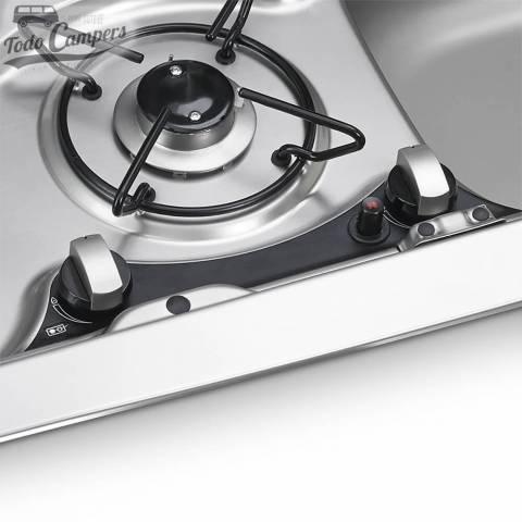 Cocina-Fregadero Dometic HSG 2370R - Fuego y mandos