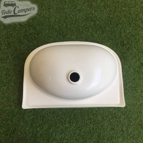 Lavabo Recto 39x27 cm boca abajo