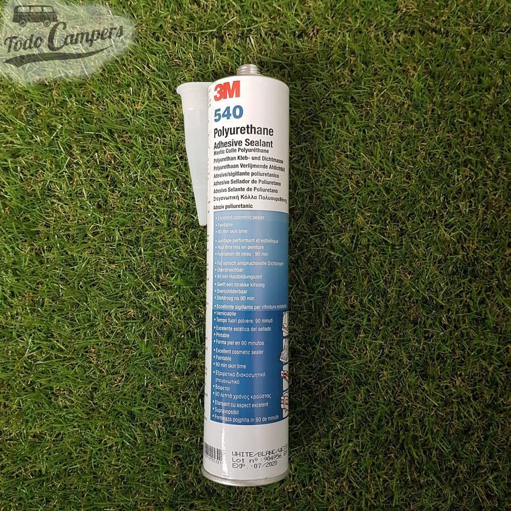 Sellador Adhesivo de Poliuretano 3M 540 (Color Blanco)