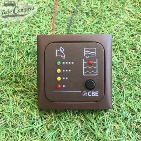 Panel indicador LED aguas limpias y sucias con sondas - CBE MT214