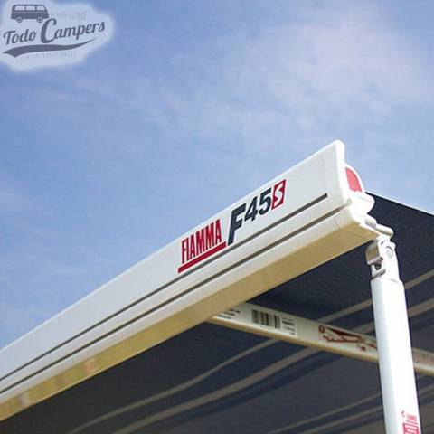 Toldo Fiamma F45s color blanco