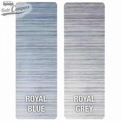 Toldo Fiamma F45s - Colores telas royal blue y royal grey
