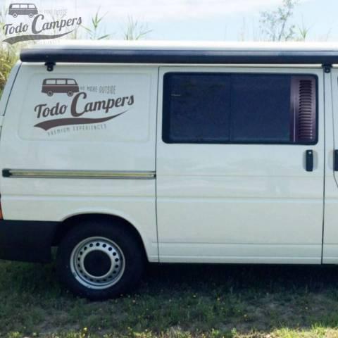 Rejilla corta compatible para furgonetas T4 del 1990 al 2002