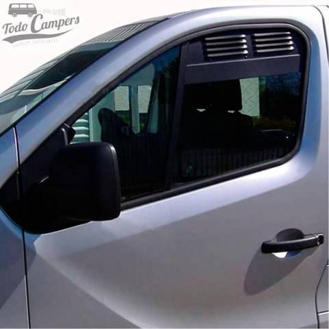 Rejillas de aireación de las ventanas de cabina de Trafic, Vivaro, Talento y NV300 desde 2015