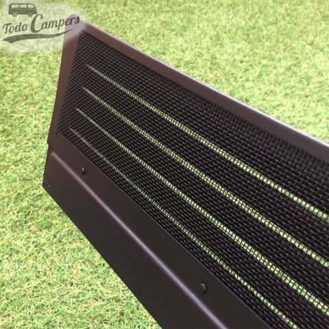 Air Vent con mosquitera de aluminio negra de alta resistencia para Mercedes caja 639