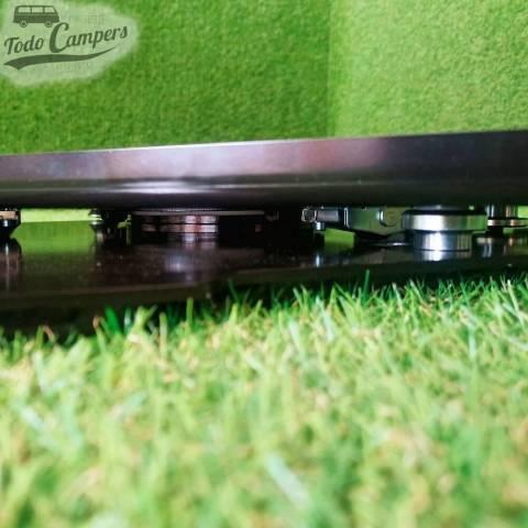 Rodamientos de la nueva base giratoria de Sportcraft Sunviauto que evitan balanceos y ruidos.