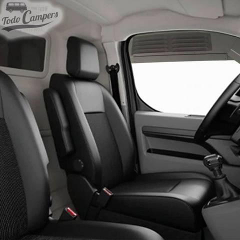 Vista interior de AirVent colocado en Citroen Jumpy