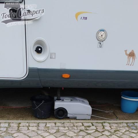 Depósito de aguas grises camper. Depósito aguas grises/negras para tu furgoneta, autocaravana o caravana