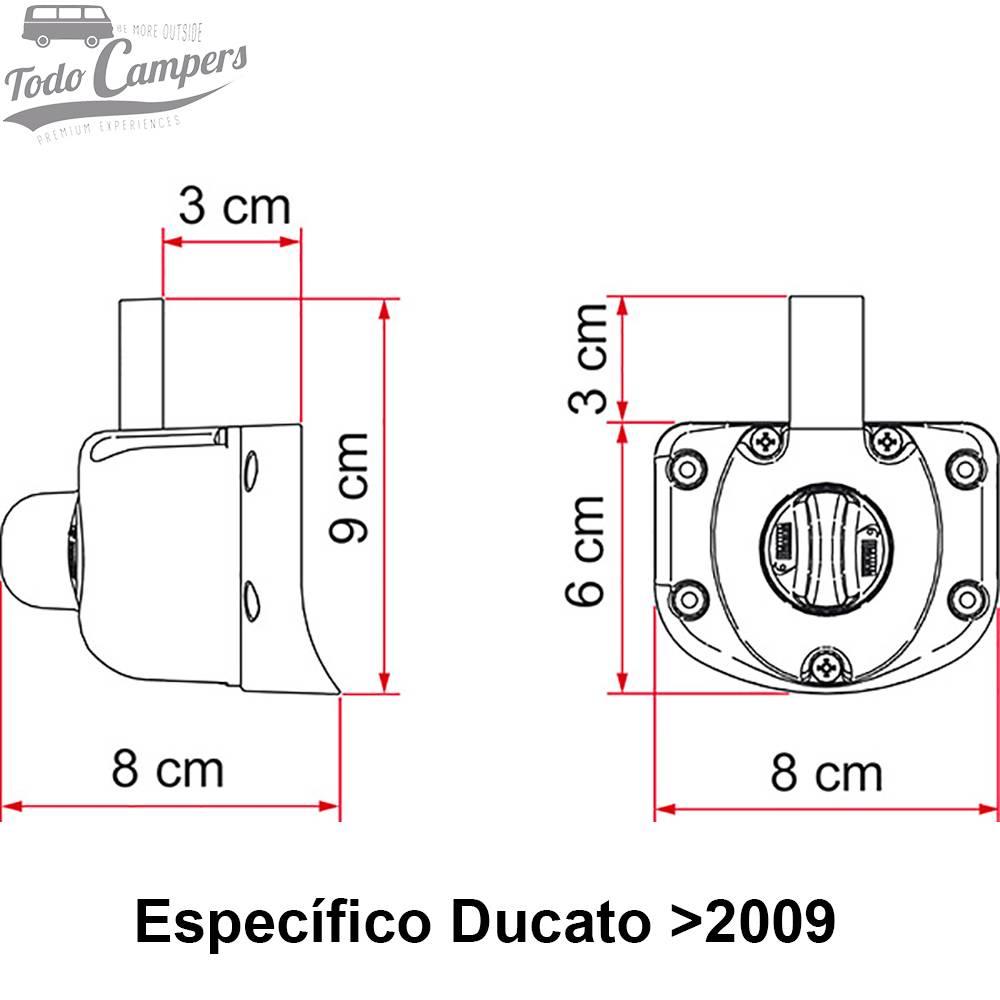 Safe Door Guardian Ducato Jumper Boxer - Desde 2009